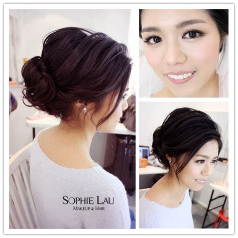Asian Hairstyles For Wedding Guests by Lau Makeup And Hair Wedding Photos Wedding Hair