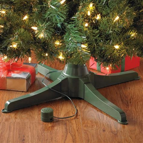 1000 ideas about rotating christmas tree stand on