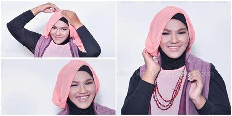 tutorial hijab wisuda untuk pipi chubby inilah trik memakai hijab cantik untuk wajah chubby