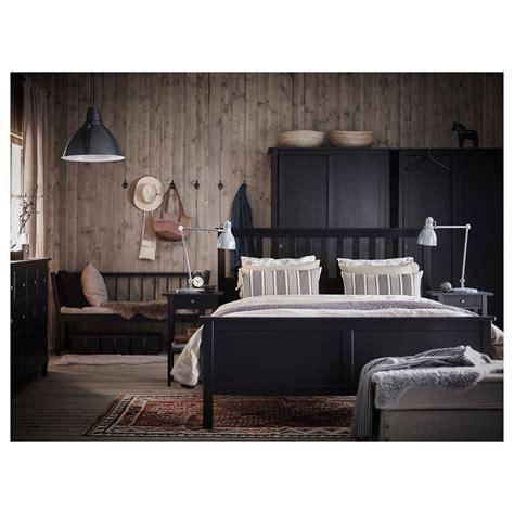 bett ikea hemnes hemnes bed frame black brown lur 246 y standard ikea