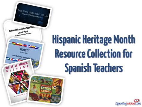 Hispanic Heritage Month Essay Topics by Hispanic Heritage Month Resource Collection For Teachers