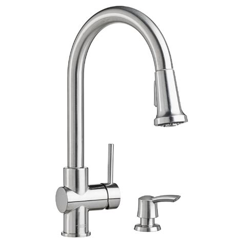 american standard pull kitchen faucet