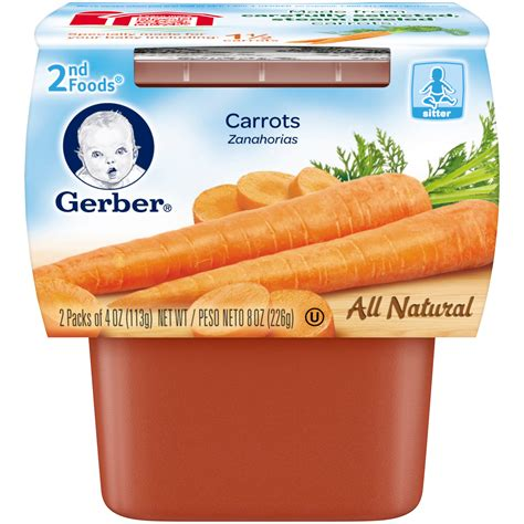 gerber s gerber 2nd foods carrot mp 8oz shop your way online
