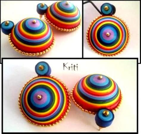 How To Make Paper Earrings Jhumkas At Home - paper quilling quilling and paper jewelry on