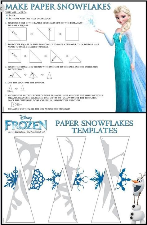 How To Make Small Paper Snowflakes - 25 best ideas about snowflake template on