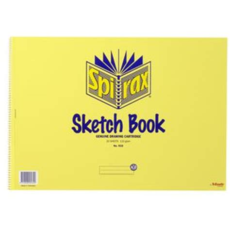 officeworks sketchbook spirax no 532 a2 sketch book 20 sheet officeworks