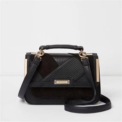 black panel mini cross satchel bag satchels bags