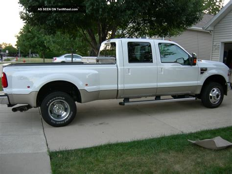 ford f 350 diesel dually 2010 ford f 350 lariat ultimate dually 4x4 6 4l turbo
