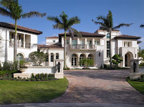 House Plans In Florida by Beautiful Mediterranean Mansion In Weston Fl Homes Of