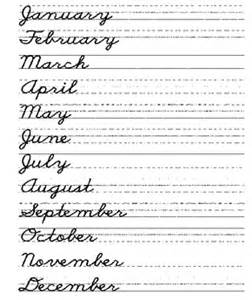 Always remember to capitalize the first letter of each month