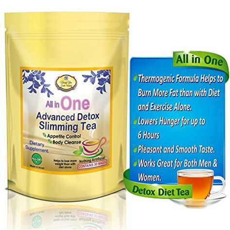 Detox Diet For Weight Loss by All In One Detox Tea Appetite Diet Tea For Weight