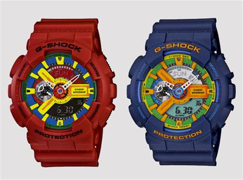 G Shock Collour g shock japan ga 110 colors watches highsnobiety