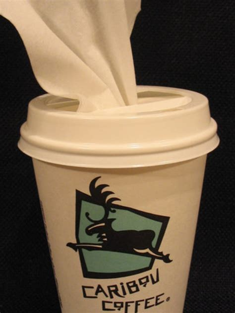 How To Make A Paper Coffee Cup - re make diy how to make a coffee cup tissue dispenser
