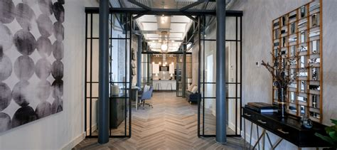 cwa sliding mondrian glazing steel industrial style