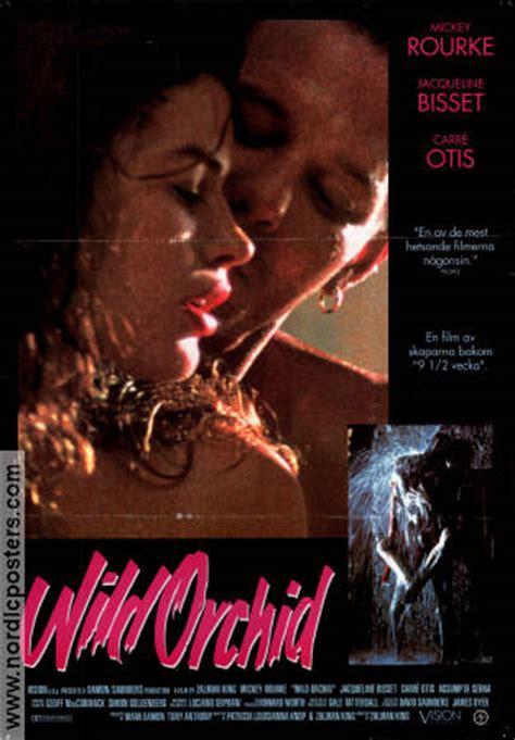 film barat wild orchid zalman king wild orchid filmaffisch 1990 original nordic