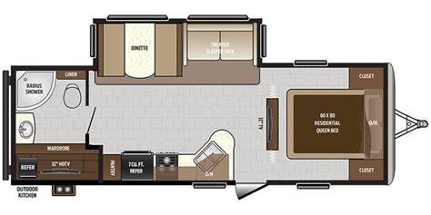 sprinter travel trailer floor plans full specs for 2018 keystone sprinter 26rb rvs rvusa com