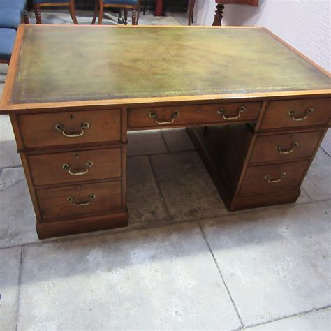 Antique Mahogany Partners Desk Antiques Atlas Antique Mahogany Desk