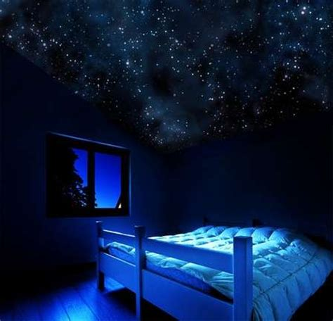 glow in the dark bedroom 10 incredible ways to decorate your walls mozaico blog