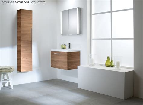 envy designer bathroom 600mm walnut vanity unit