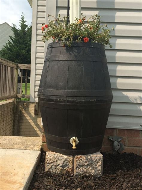 barrel planter with 3 pots resin water feature 34 best washing machine planter images on wash