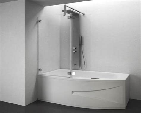 vasca da bagno con doccia incorporata vasca con doccia incorporata