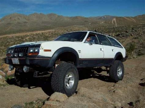 jeep eagle lifted amc eagle oddly enough my first 4x4 car crush the