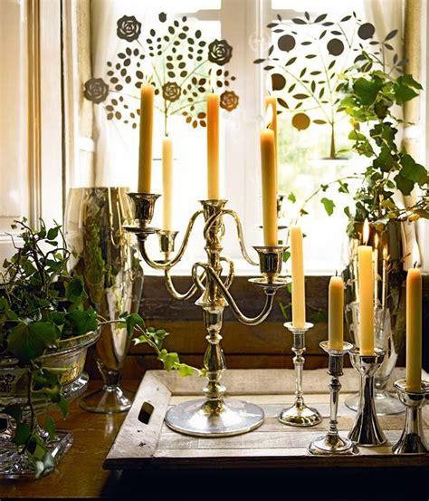 velas y candelabros ideas para decorar con velas candelabros antiguos velas
