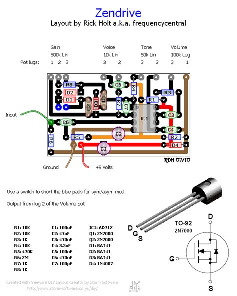 zendrive layout frequencycentral hermida zendrive pcb layout