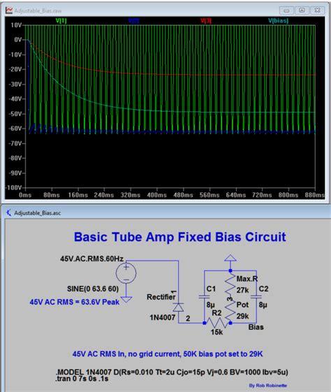 ltspice resistor power rating 5f6a bassman bias circuit ltspice model telecaster guitar forum