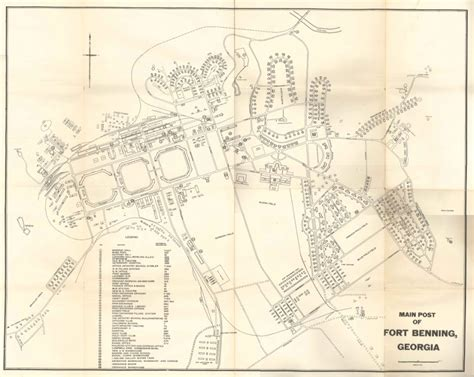 fort benning map the legacy of america s other columbus aaslh blogs