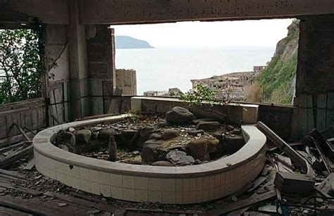 abandoned hashima city island inspiration for bond