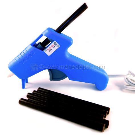 hair extensions glue gun fusion glue gun for hair extension bonding manedepot