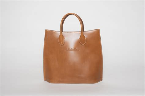 Handmade Bag Company - large leather tote bag the fashion league