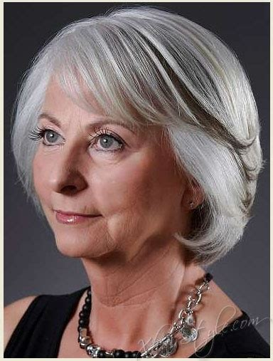 trendy medium length hair for over seventies women over 70 hairstyles stylish haircuts for women over