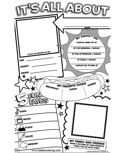 And Me Coloring Pages To Print
