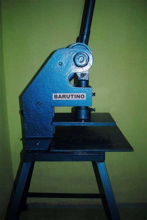 Mesin Pisau Pond proses pembuatan mesin pond manual barutino sandal