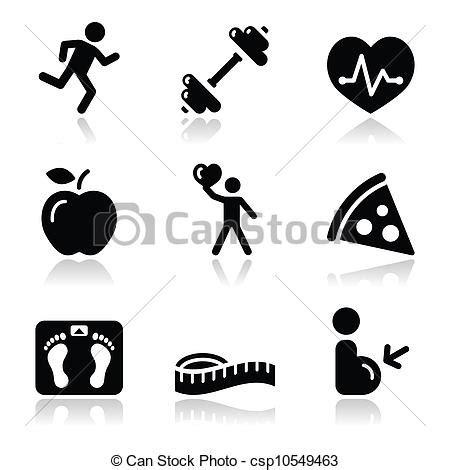 imagenes vectores salud clip art de vectores de salud icono negro limpio