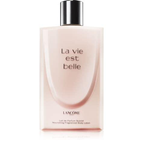 Lancome La Vie Est 200ml lanc 244 me la vie est latte corpo per donna 200 ml