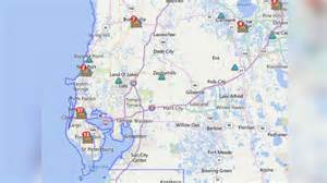 power outages in the area wtsp