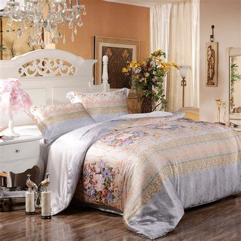 different types of comforters different types of bed sheet fabrics materials panda silk