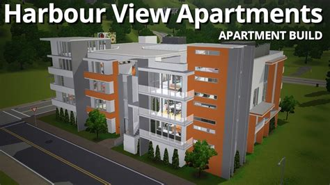 Harbour View Appartments by The Sims 3 Building Harbour View Apartments W