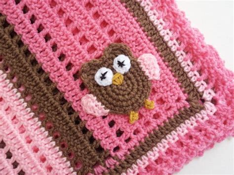Home Design Down Comforter Reviews Crochet Baby Owl Blanket By Poochie Baby Craftsy