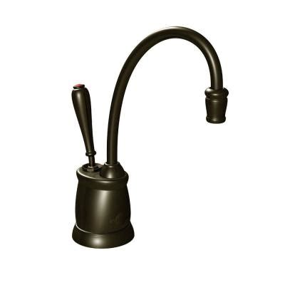 Rubbed Bronze Water Faucet by Insinkerator Indulge Tuscan Single Handle Instant