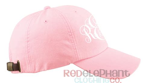 light pink baseball cap monogram baseball hat for ladies light pink