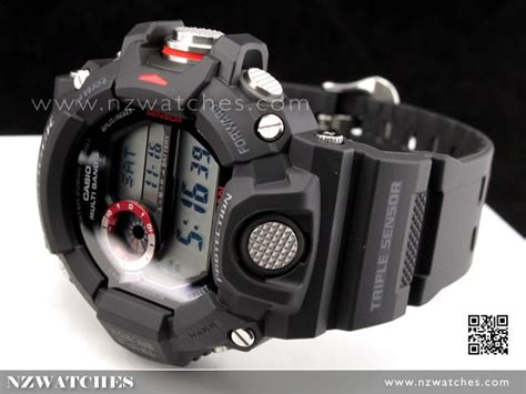 Casio G Shock Gw 9400 1 Black buy casio g shock rangeman solar multiband 6 sport gw 9400 1 gw9400 buy watches
