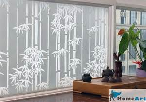 window decorative frosted glass window home installation