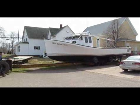 lobster boat builders pei leblanc brothers boatbuilders doovi