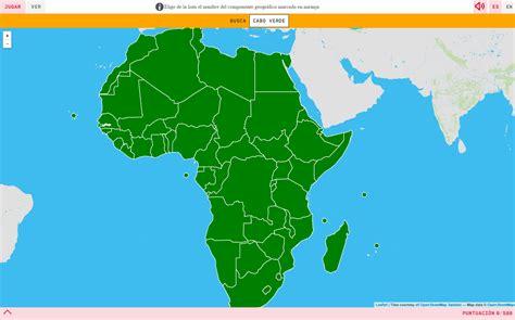 mapa de africa interactivo mapa mudo africa politico interactivo