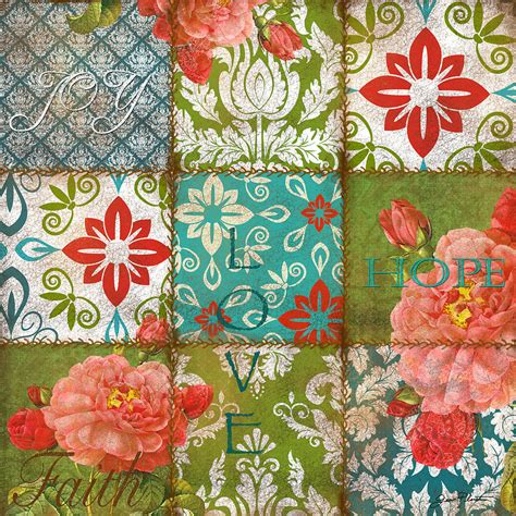 Patchwork Artists - boho patchwork a by jean plout