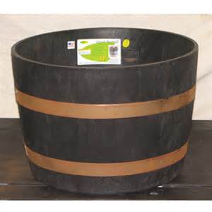 Whiskey Barrel Planter Lowes by Whiskey Barrel Planter Casual Cottage